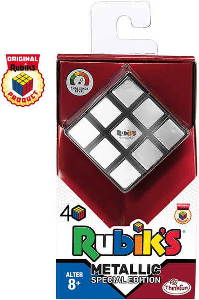 Thinkfun® Spiel, Denkspiel »Rubik's Cube - Metallic«