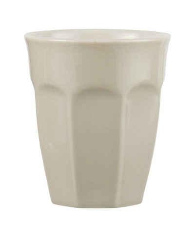 "Ib Laursen Tasse »Ib Laursen - Becher ""Mynte"" 0,25l (2042) Cafe Latte Becher Kaffee Tasse Farbe: latte - 01«"