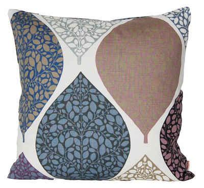 Kissenhülle »Momente«, beties, Kissenbezug ca. 40x40 cm in interessanter Größenauswahl hochwertig & angenehm 100% Baumwolle (Hortensie)