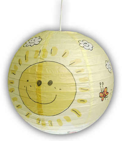 niermann Hängeleuchte »Sunny«, Papier-Pendelleuchte Sunny