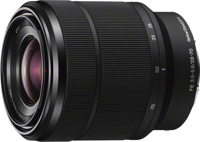 Objektive - Sony »SEL 2870 FE« Zoomobjektiv  - Onlineshop OTTO