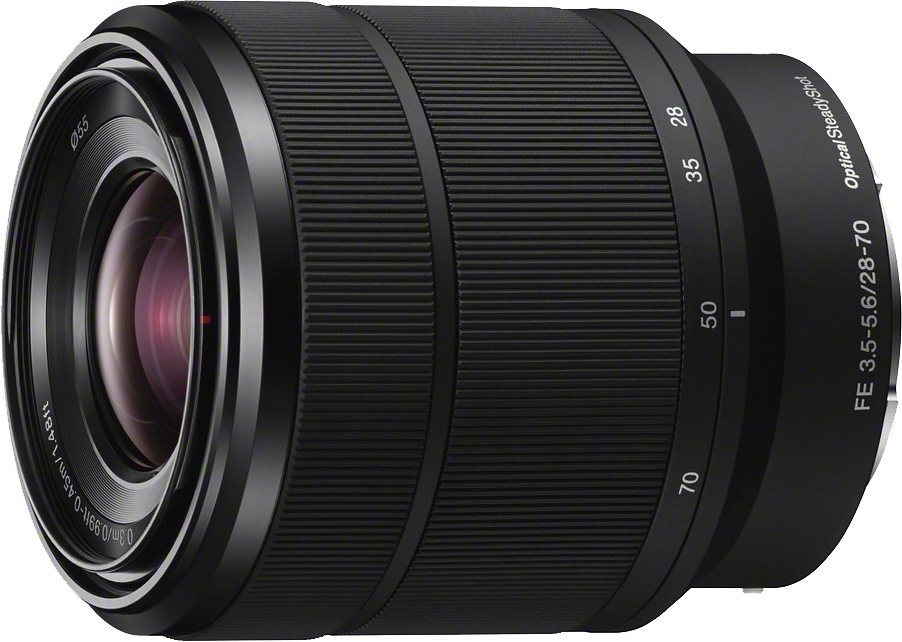 Sony SEL-2870 FE 28–70 mm F 3,5–5,6 OSS Standardzoom Objektiv in schwarz