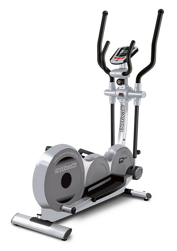 Crosstrainer, grau-silber, »Outwalk«, BH-Fitness
