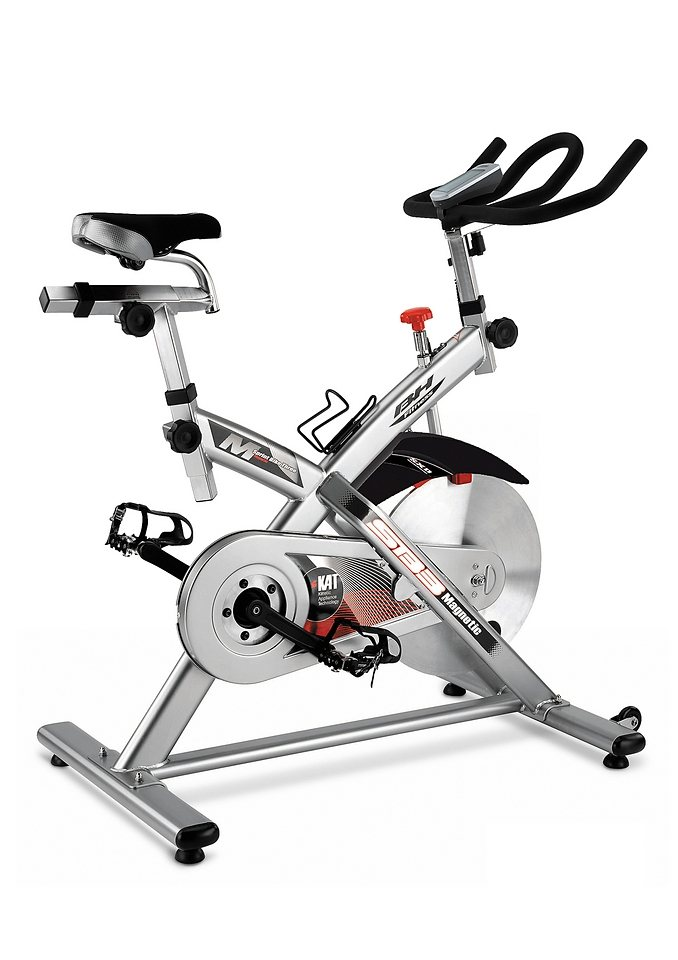 Indoor Cycle, silber-schwarz, »SB3 Magnetic«, BH-Fitness in silber-schwarz