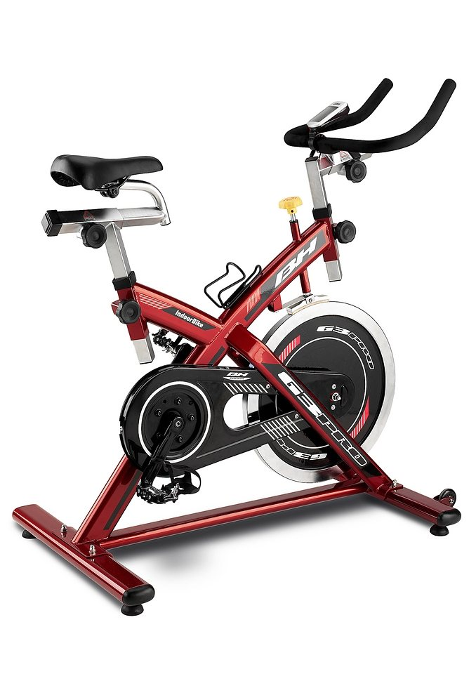 Indoorcycle, rot-silber, »G3 Pro«, BH-Fitness in rot-silber