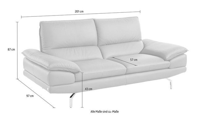 Sofas - CALIA ITALIA 2,5 Sitzer »Dave«  - Onlineshop OTTO