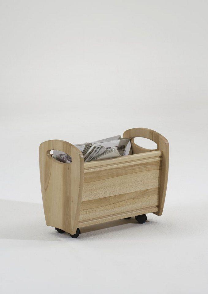 Zeitungswagen, »Etan« in Kernbuche