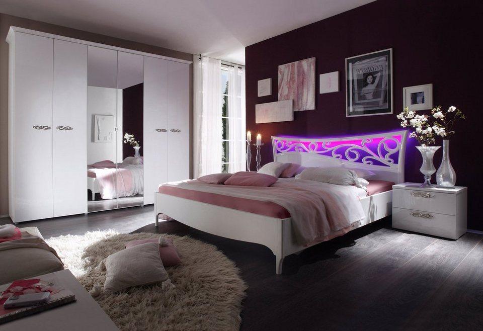 Lc schlafzimmer set 4 tlg online kaufen otto - Schlafzimmer komplett bei otto ...