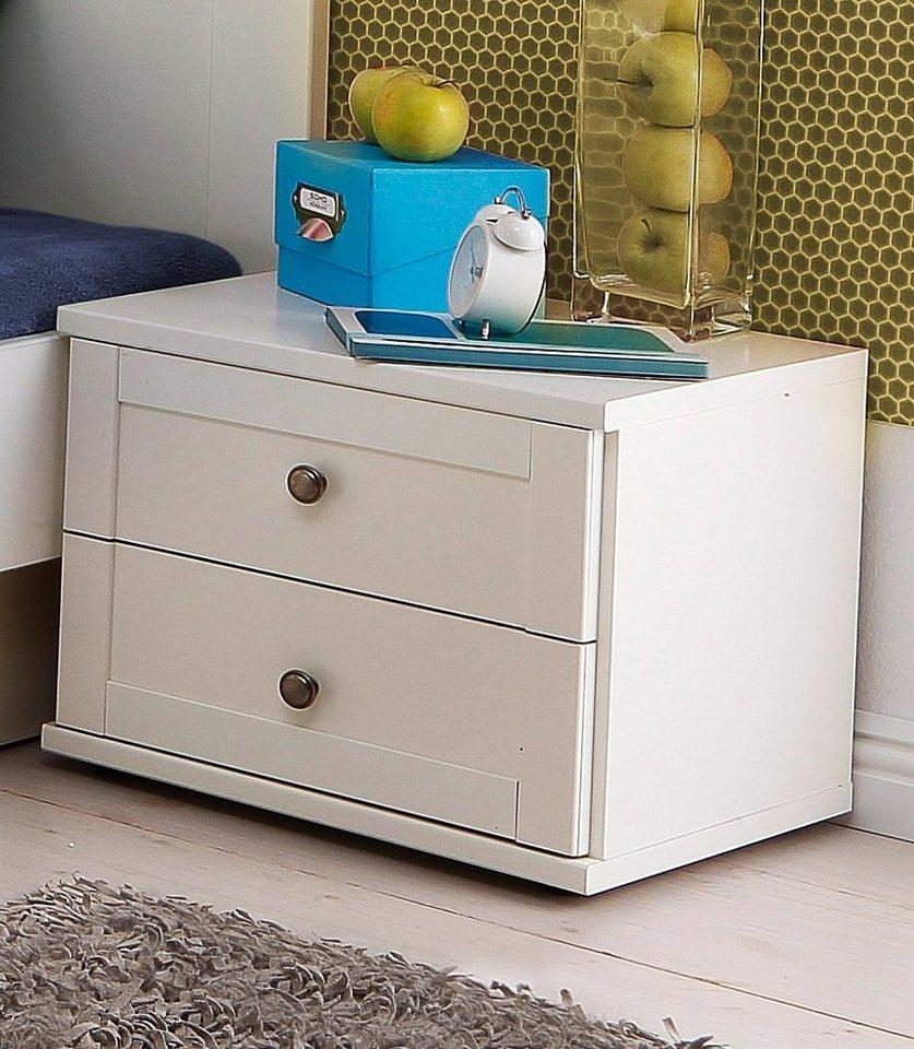 Wimex Nachttisch »Filou« | Schlafzimmer > Nachttische | Weiß | Wimex