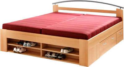 funktionsbett 180 200. Black Bedroom Furniture Sets. Home Design Ideas
