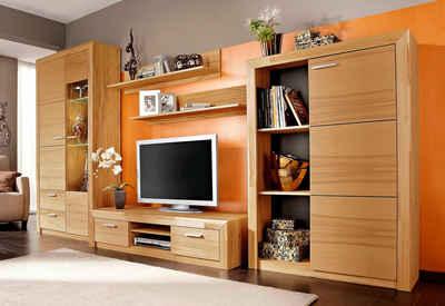Wohnwand echtholz  Massivholz Wohnwand kaufen » Holz & Holzoptik | OTTO
