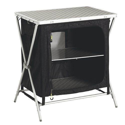 Outwell Campingmöbel »Bahamas Cupboard« in schwarz