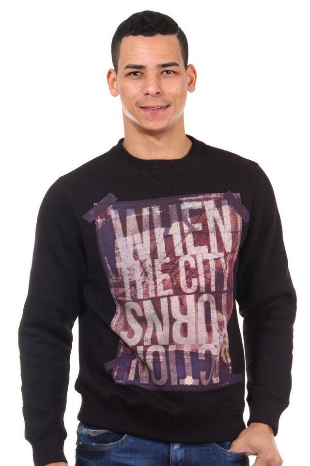 R-NEAL Sweater in schwarz
