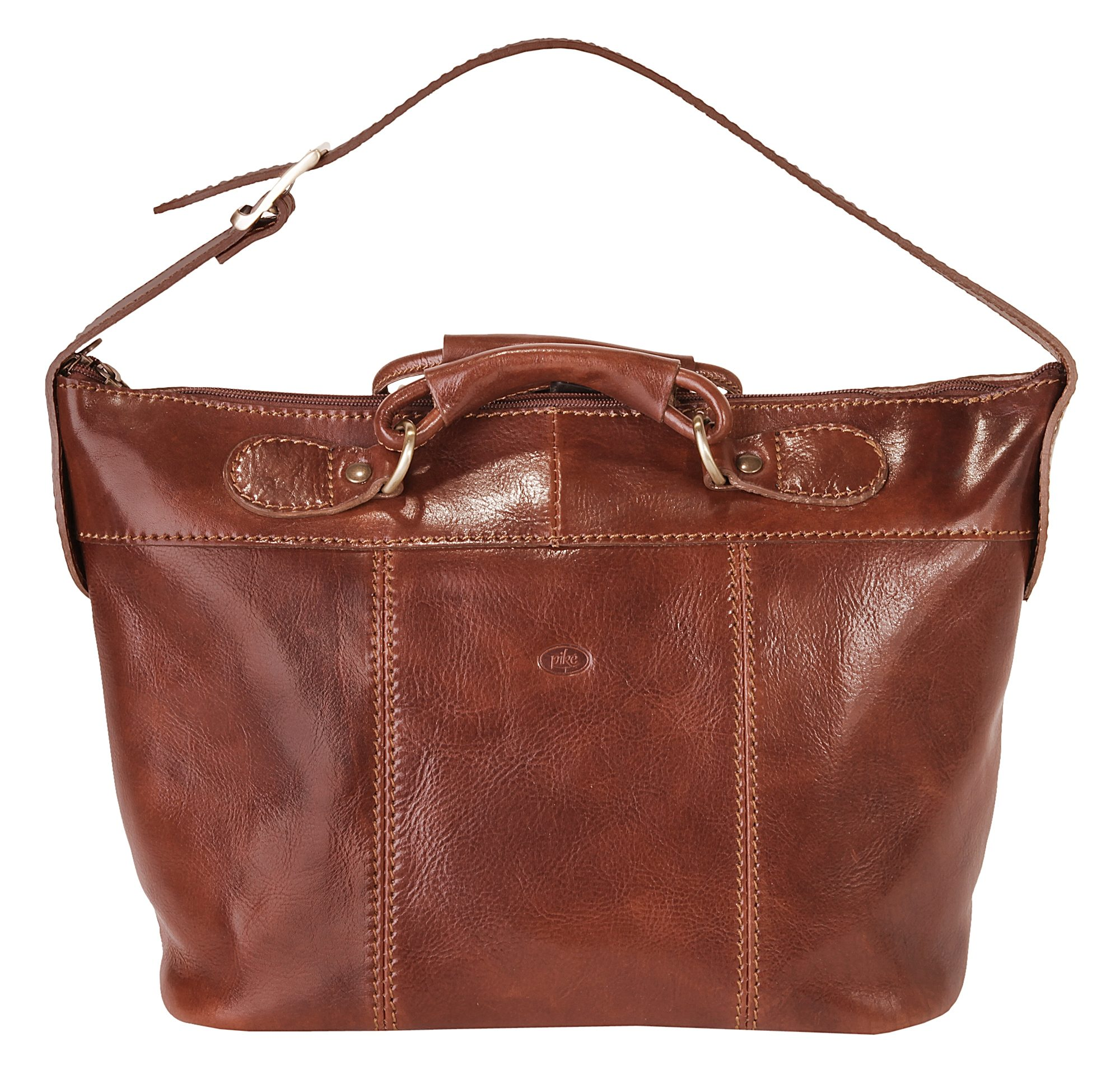 piké Leder Damen Shopper