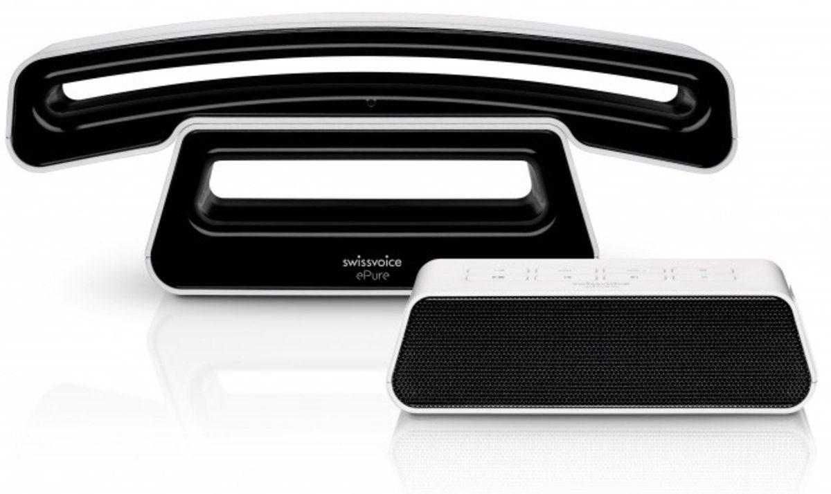 Swissvoice Telefon »ePure 2 TAM weiß-schwarz«