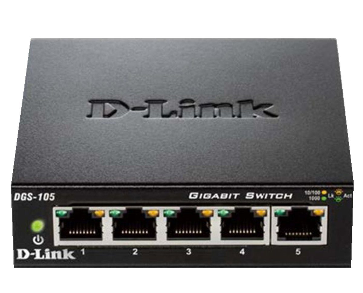D-Link Switch »DGS-105 5-Port Layer2 Gigabit Switch«