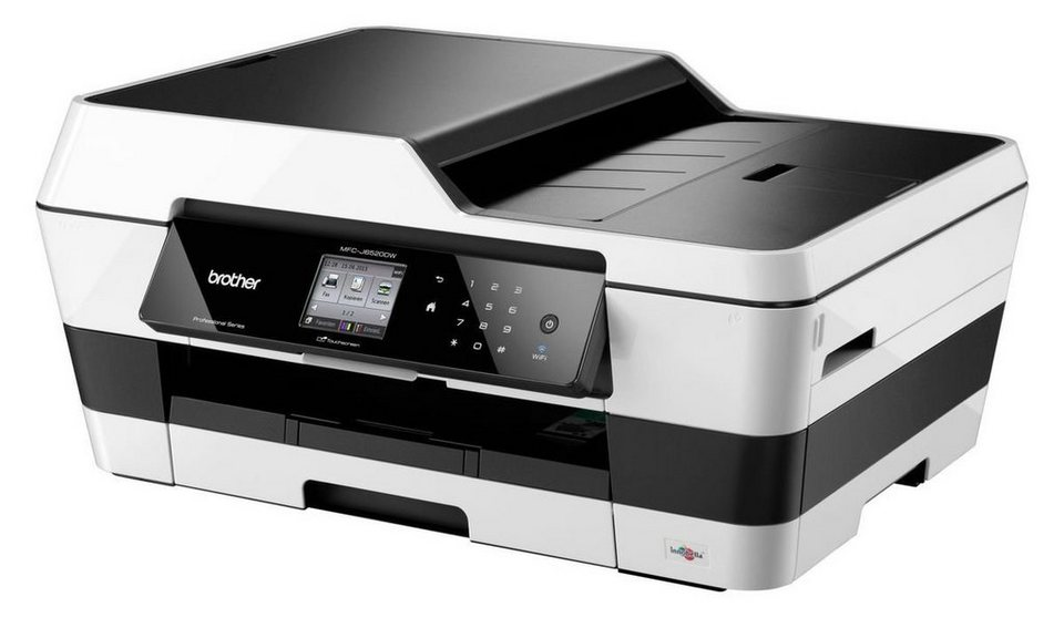 Brother Tintenstrahl-Multifunktionsdrucker »MFC-J6520DW 4in1« in Silber