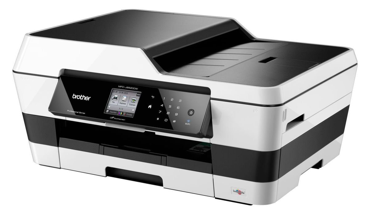 Brother Tintenstrahl-Multifunktionsdrucker »MFC-J6520DW 4in1«