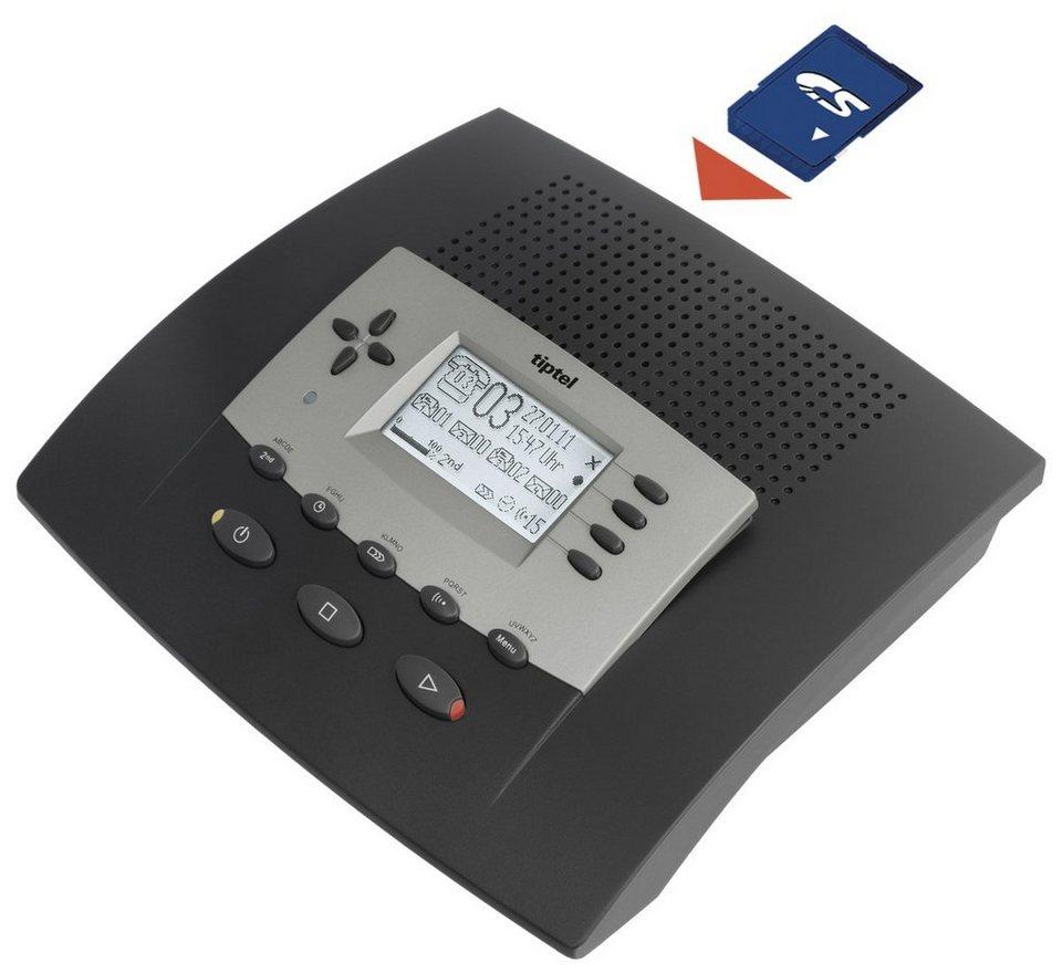 Tiptel Anrufbeantworter »545 SD« in Schwarz