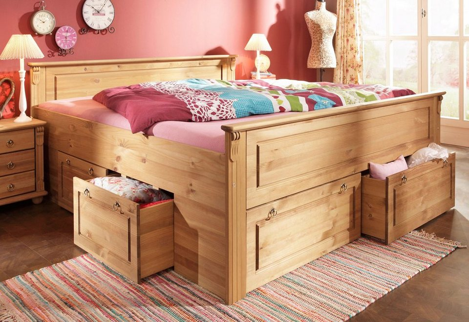 bett home affaire tessin online kaufen otto. Black Bedroom Furniture Sets. Home Design Ideas