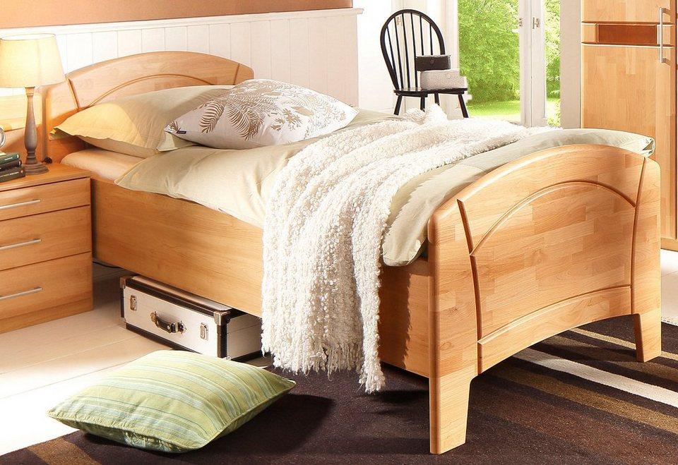 Home affaire Bett »Sarah«, Aus wertvoller teilmassiver Erle online kaufen |  OTTO