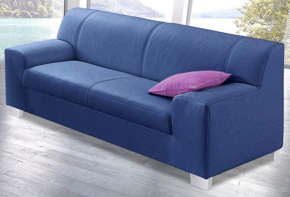 3-Sitzer in blau