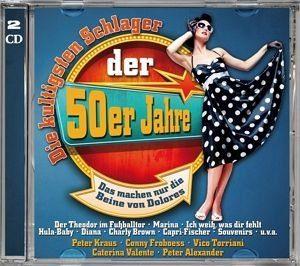 Audio CD »Various: Die Kultigsten Schlager Der 50er Jahre«
