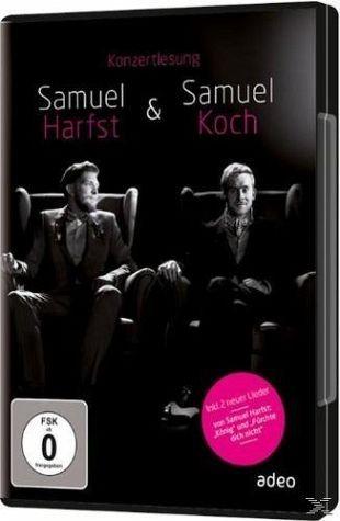 DVD »Samuel Harfst & Samuel Koch - Konzertlesung«