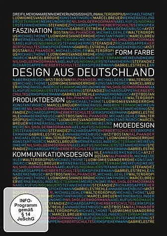 DVD »Faszination Form Farbe - Design aus Deutschland«
