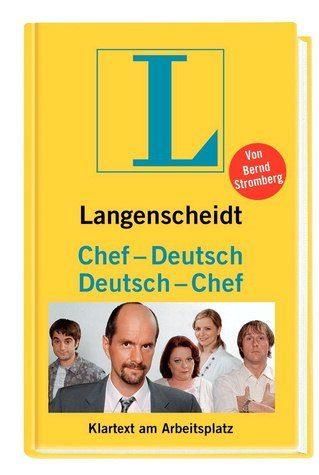 Gebundenes Buch »Langenscheidt Chef-Deutsch / Deutsch-Chef«