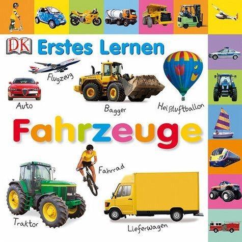 Buch mit Papp-Einband »Erstes Lernen. Fahrzeuge«