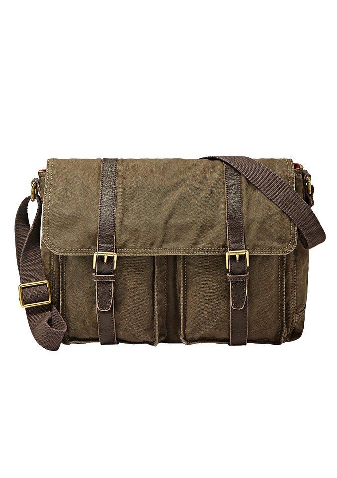 Fossil Messenger Bag »ESTATE EW« in oliv