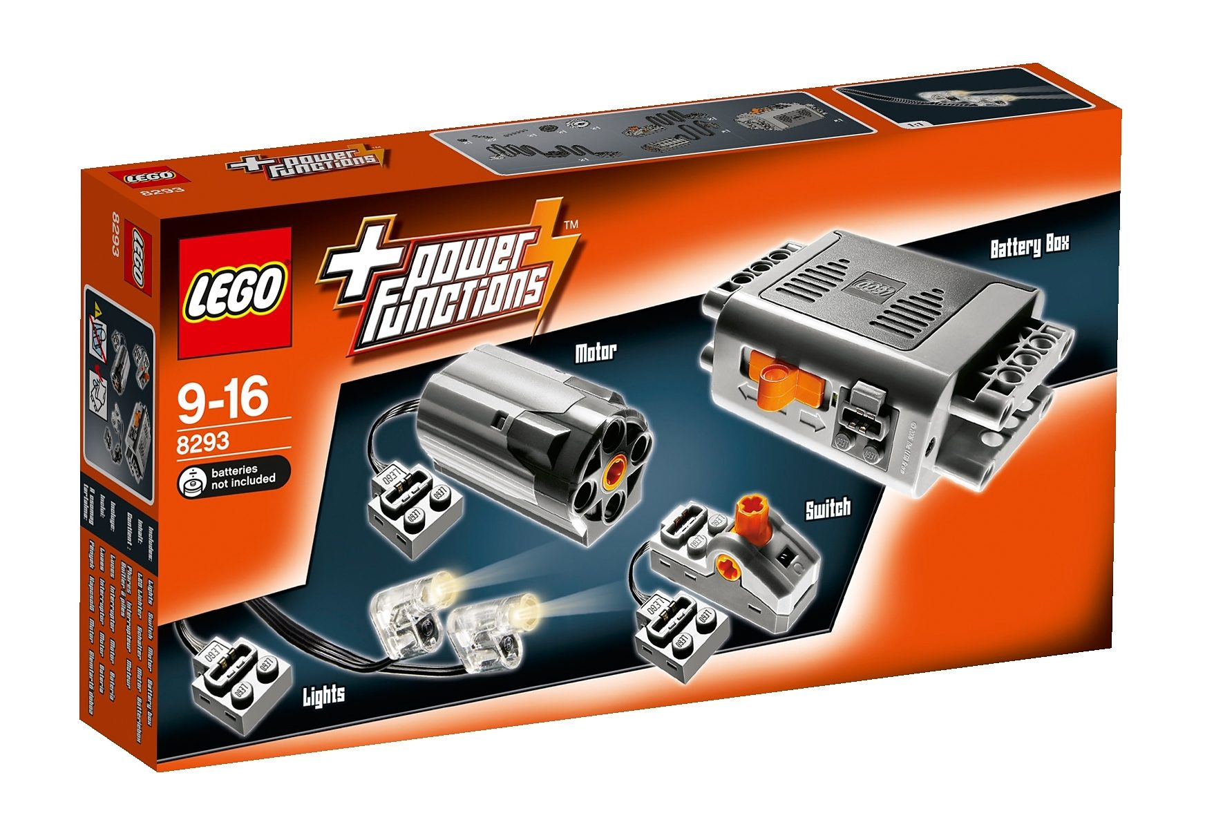 LEGO®, Ergänzungsset (8293), »Power Functions Tuning-Set«, LEGO® Technic