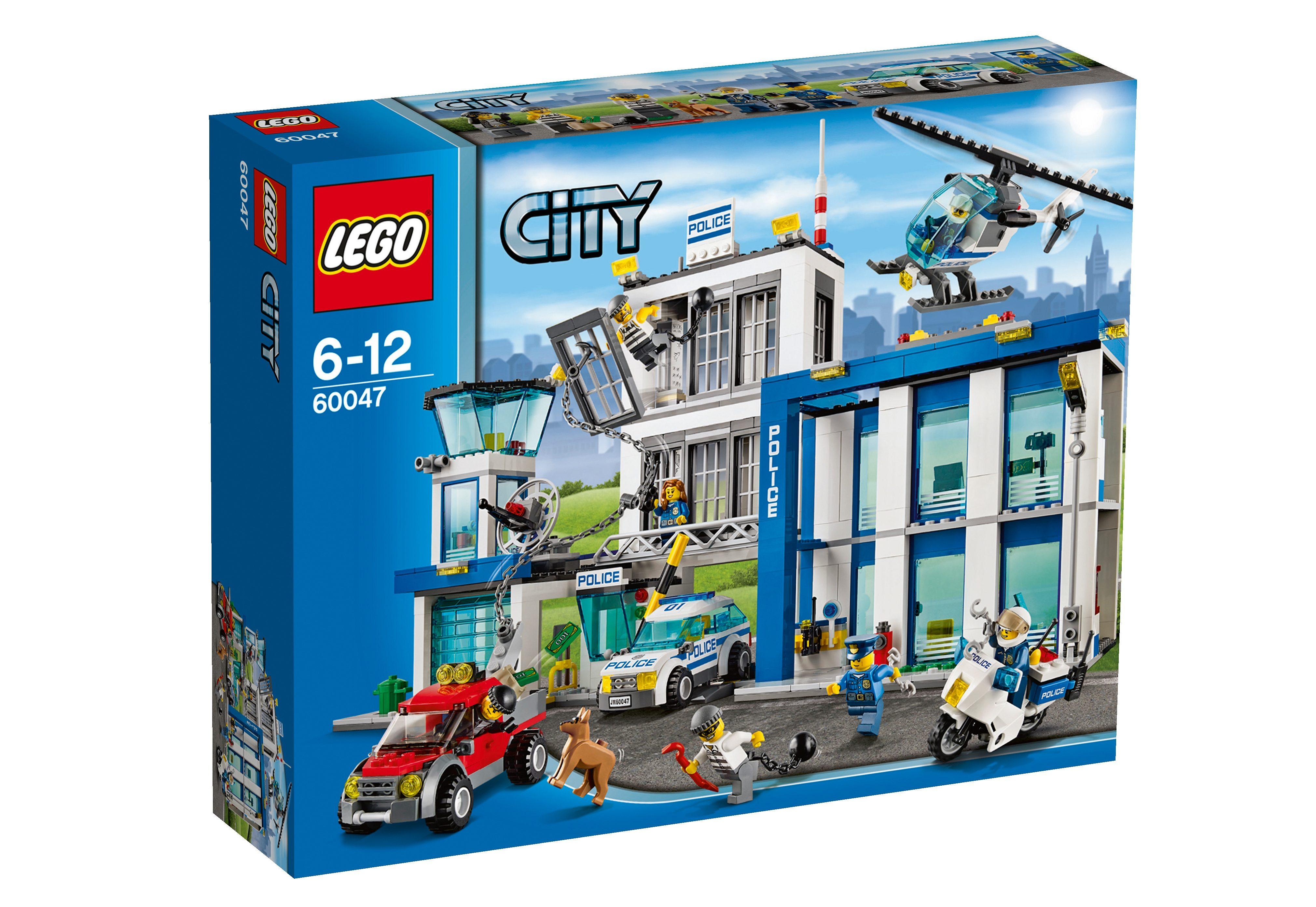 Ausbruch aus der Polizeistation (60047), LEGO® City