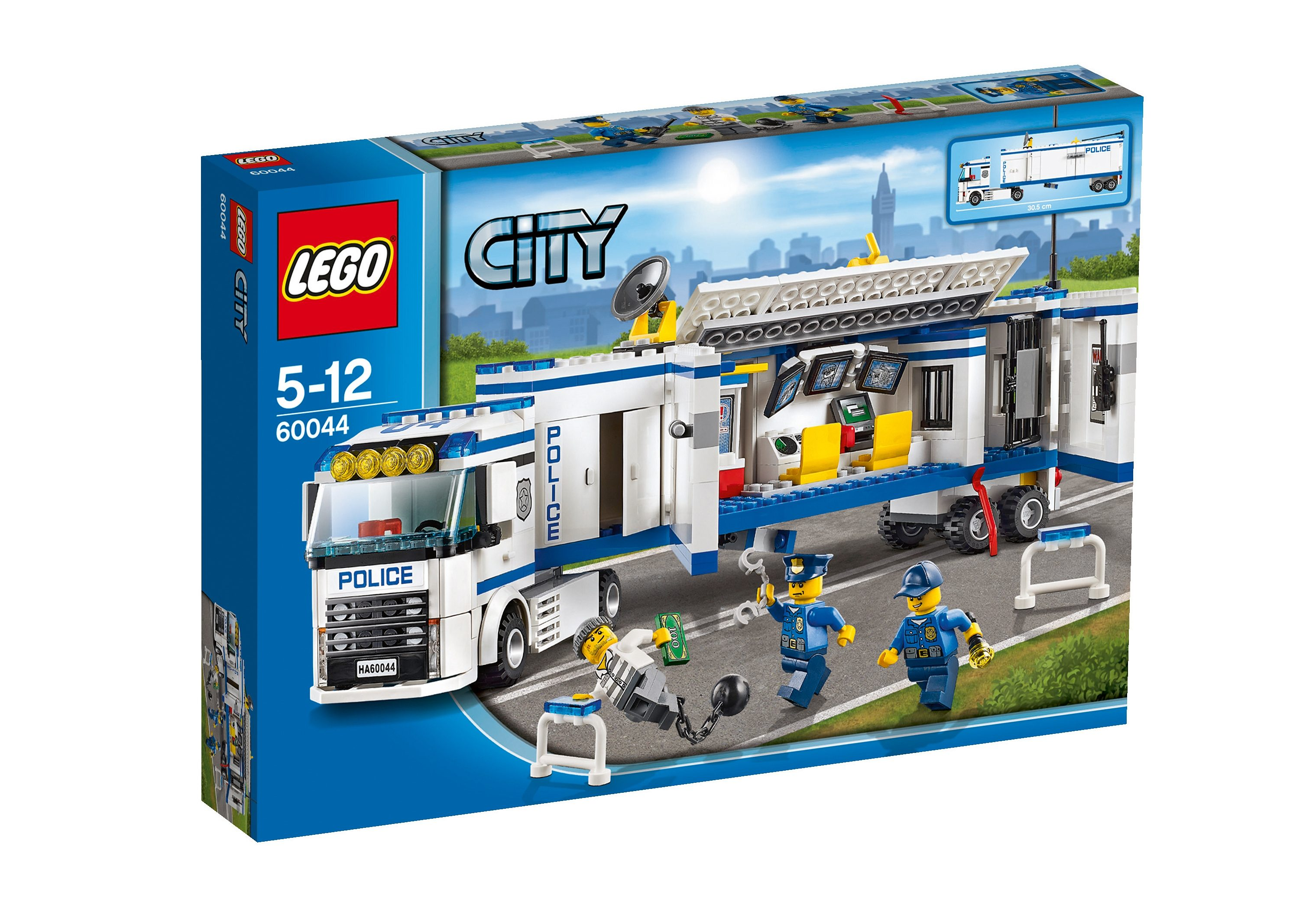 Polizei-Überwachungs-Truck (60044), LEGO® City