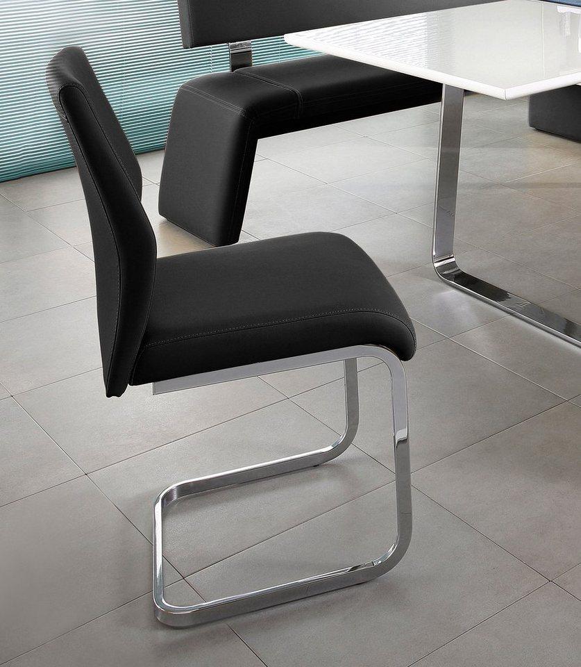 Steinhoff Stühle (2 oder 4 Stück) in schwarz