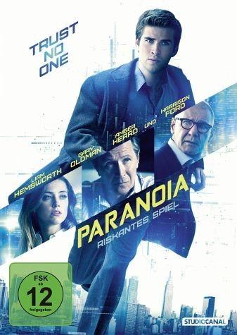 DVD »Paranoia - Riskantes Spiel«