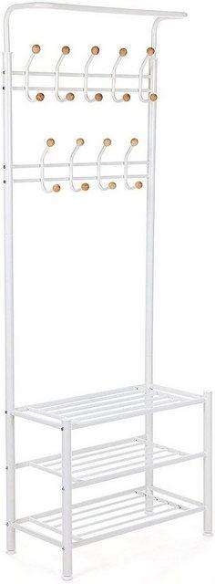 SONGMICS Garderobenständer »HSR04W HSR04B«| Kleiderständer| weiß | Flur & Diele | SONGMICS