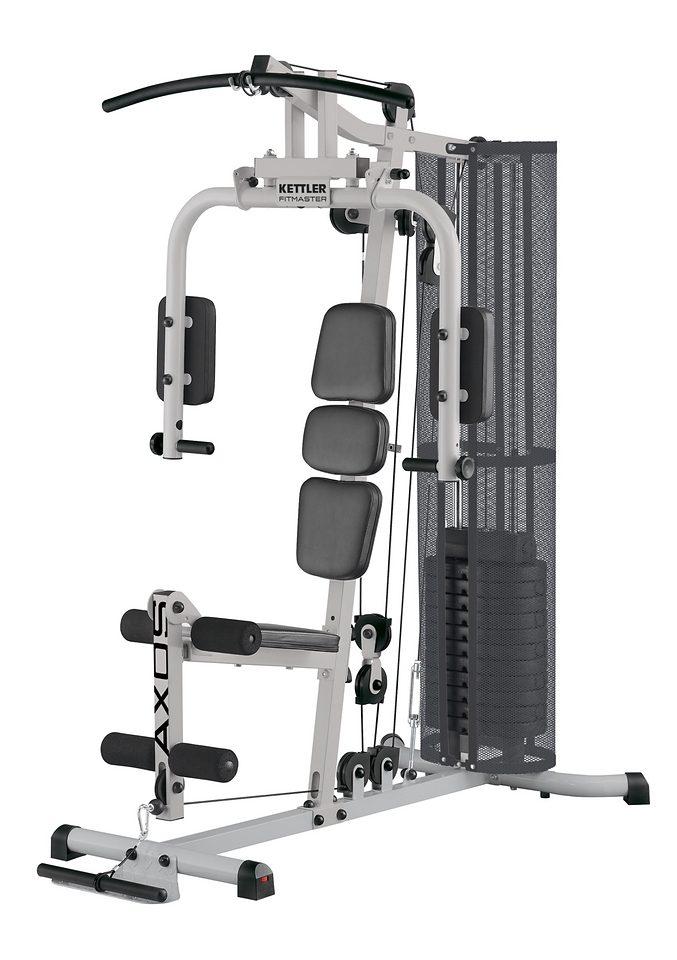 Kettler Kraftstation »Axos Fitmaster«, 12 Gewichtsblöcke