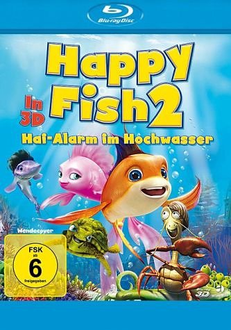 Blu-ray »Happy Fish 2 - Hai-Alarm im Hochwasser«