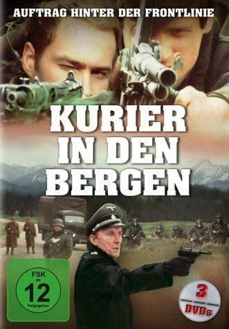 DVD »Kurier in den Bergen - Komplett alle Folgen (3...«