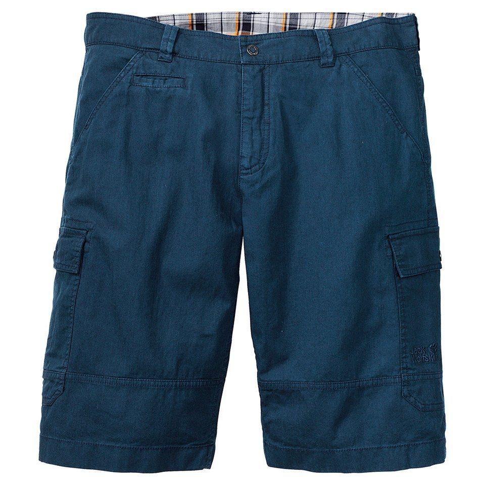 Jack Wolfskin Shorts »CARGO SHORTS MEN« in night blue