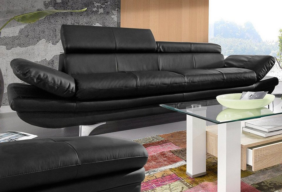 cotta 3 sitzer online kaufen otto. Black Bedroom Furniture Sets. Home Design Ideas