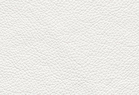CALIA ITALIA Hocker in toller Lederqualität in weiß