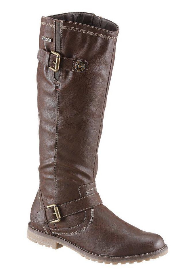 Stiefel von Arizona mit Tex-Ausstattung in braun