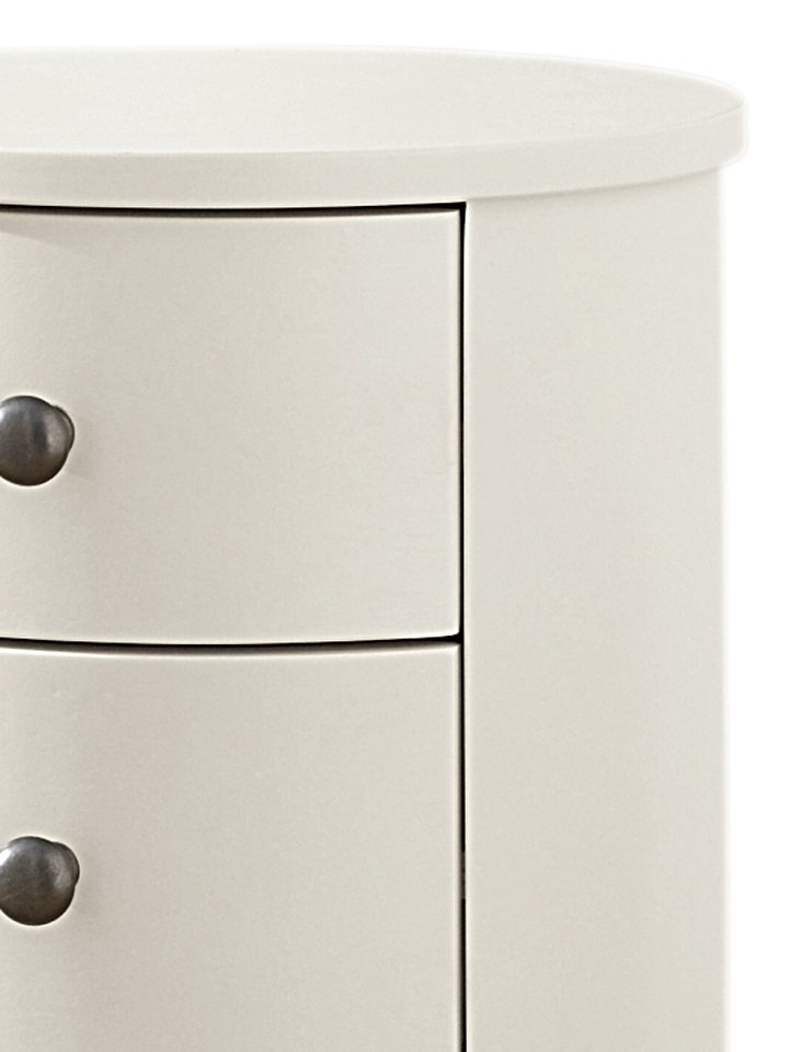 heine home Rund-Kommode in creme