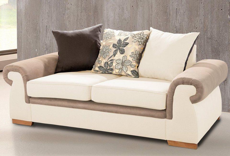 Home affaire 2-Sitzer »Avanti« in beige/braun