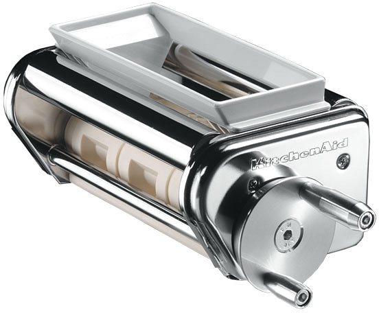 KitchenAid Raviolivorsatz 5KRAV, Raviolimaker, für KitchenAid Modelle mit 4,8+6,9-Liter-Schüssel in verchromt