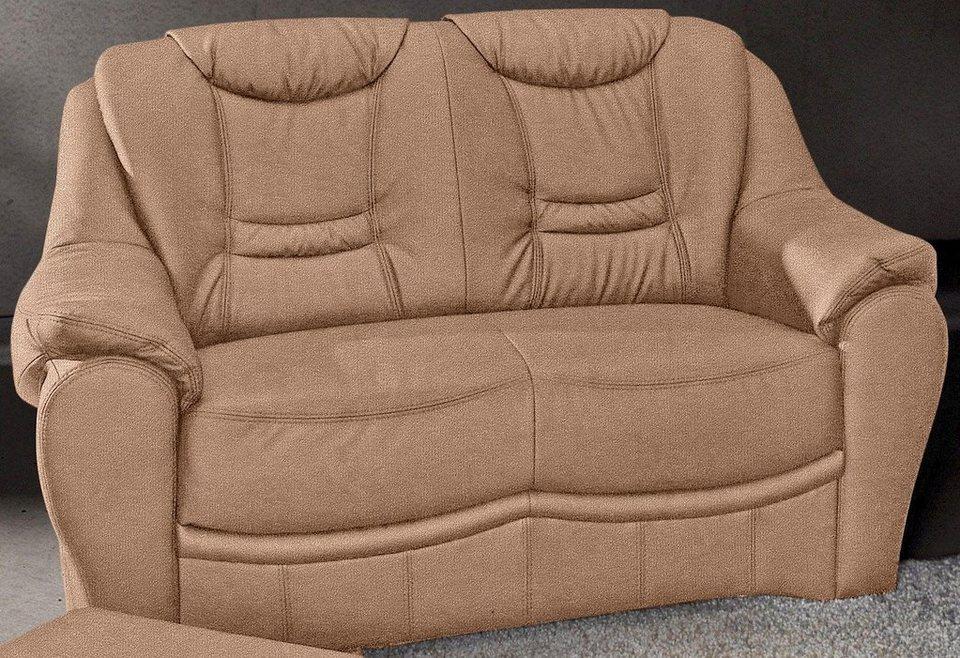 2-Sitzer, Sit & More in braun