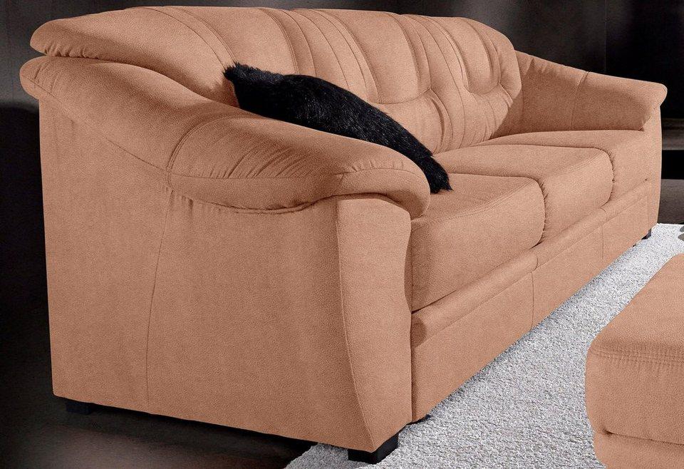 3-Sitzer, Sit & More, wahlweise mit Bettfunktion in braun